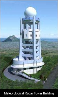 Meteorological Radar Tower Building
