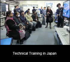 Technical Training in Japan